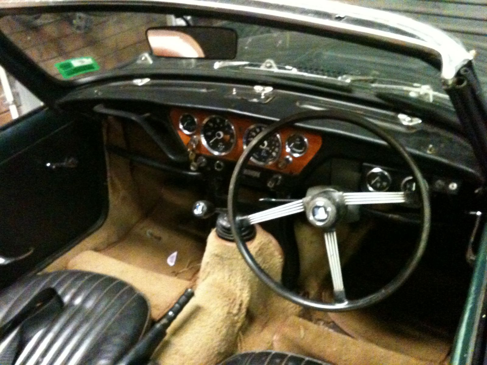 Mk 2 interior very rough