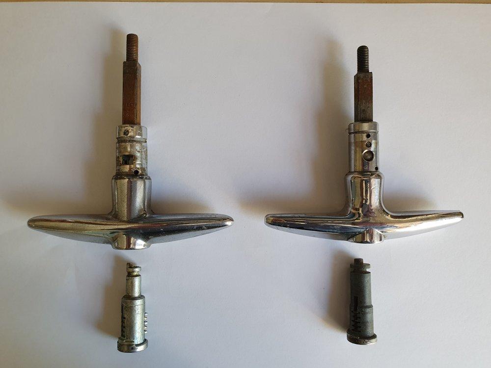 Spitfire Mk1 Boot Lock Barrels